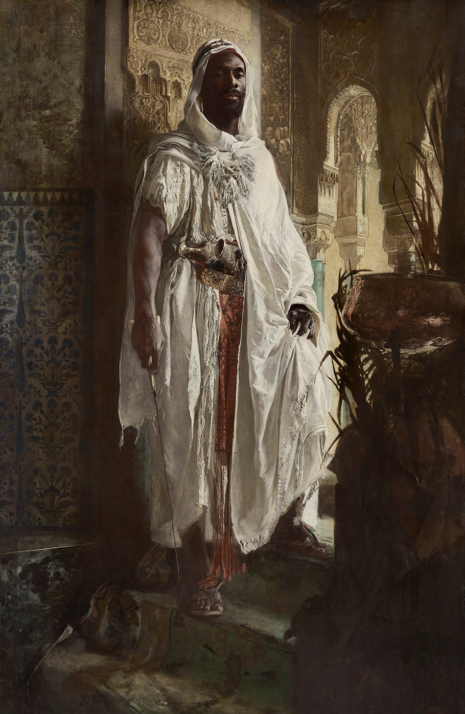 Eduard-Charlemont-The-Moorish-Chief-_Philadelphia-Museum-of-Art_w