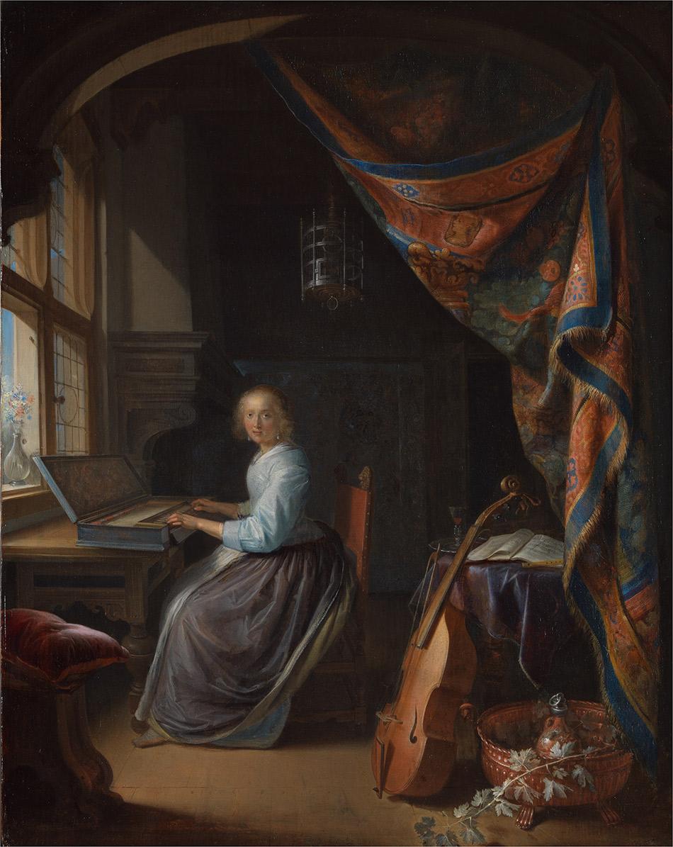 Gerrit-Dou_Woman-at-the-Clavichord_w