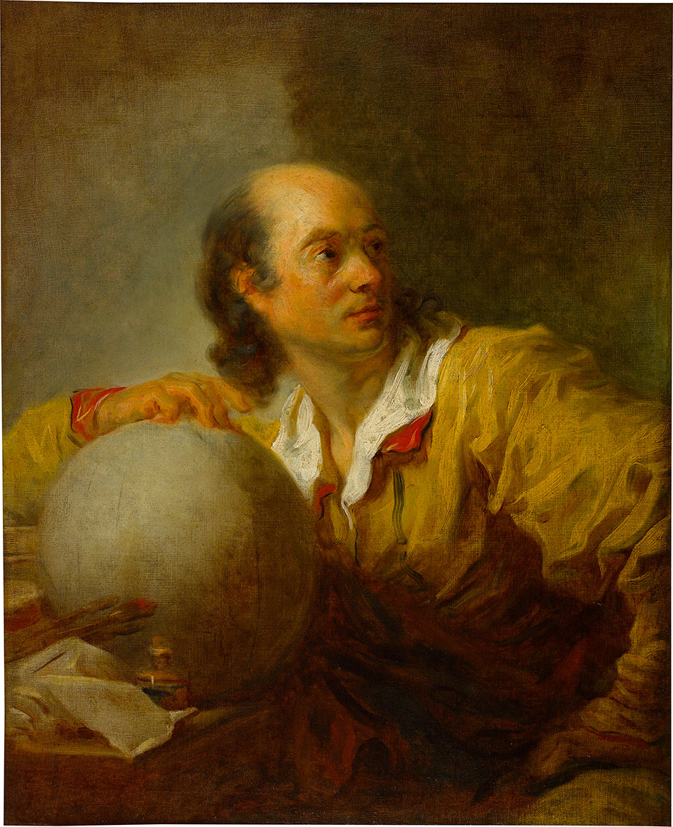 Jean-Honore-Fragonard_Portrait-of-a-Man_b_w