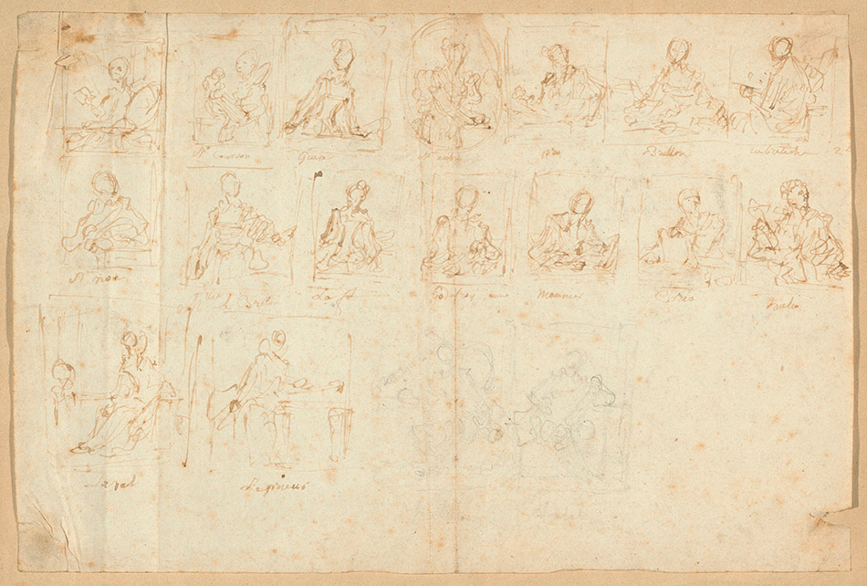 Jean-Honore-Fragonard_Sketches-of-Portraits_w