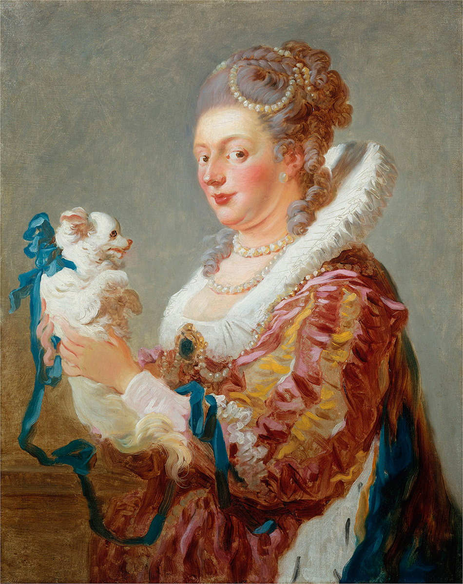 Jean-Honore-Fragonard_Woman-with-a-Dog_w