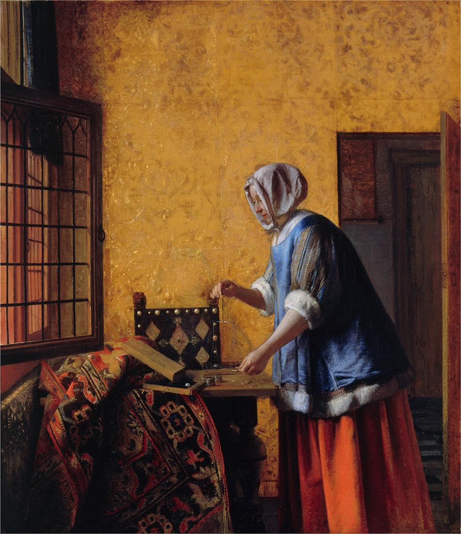 Pieter-de-Hooch_Woman-Weighing-Coins_w