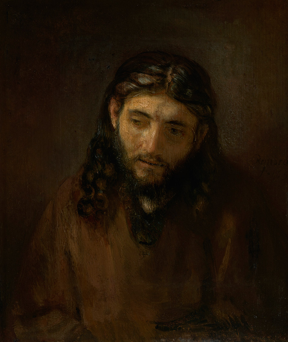 Rembrandt-Harmensz-van-Rijn_-Head-of-Christ _Philadelphia-Museum-of-Art_w