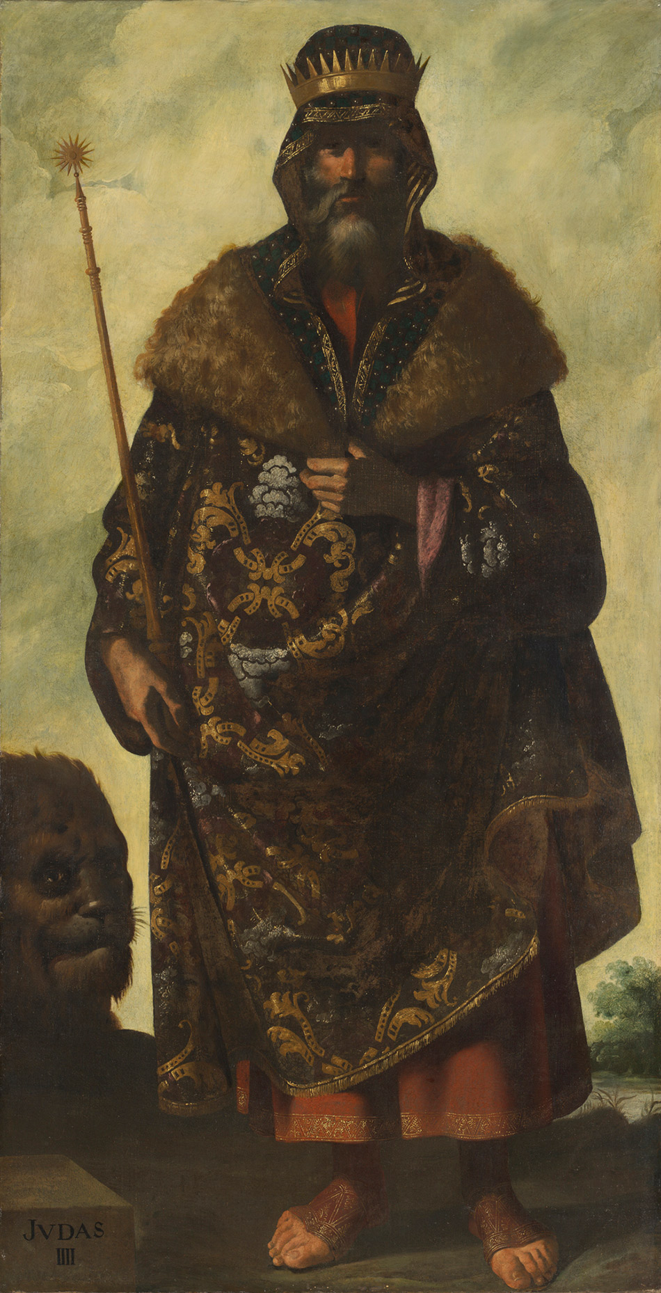 francisco-de-zurbaran_Judah_w