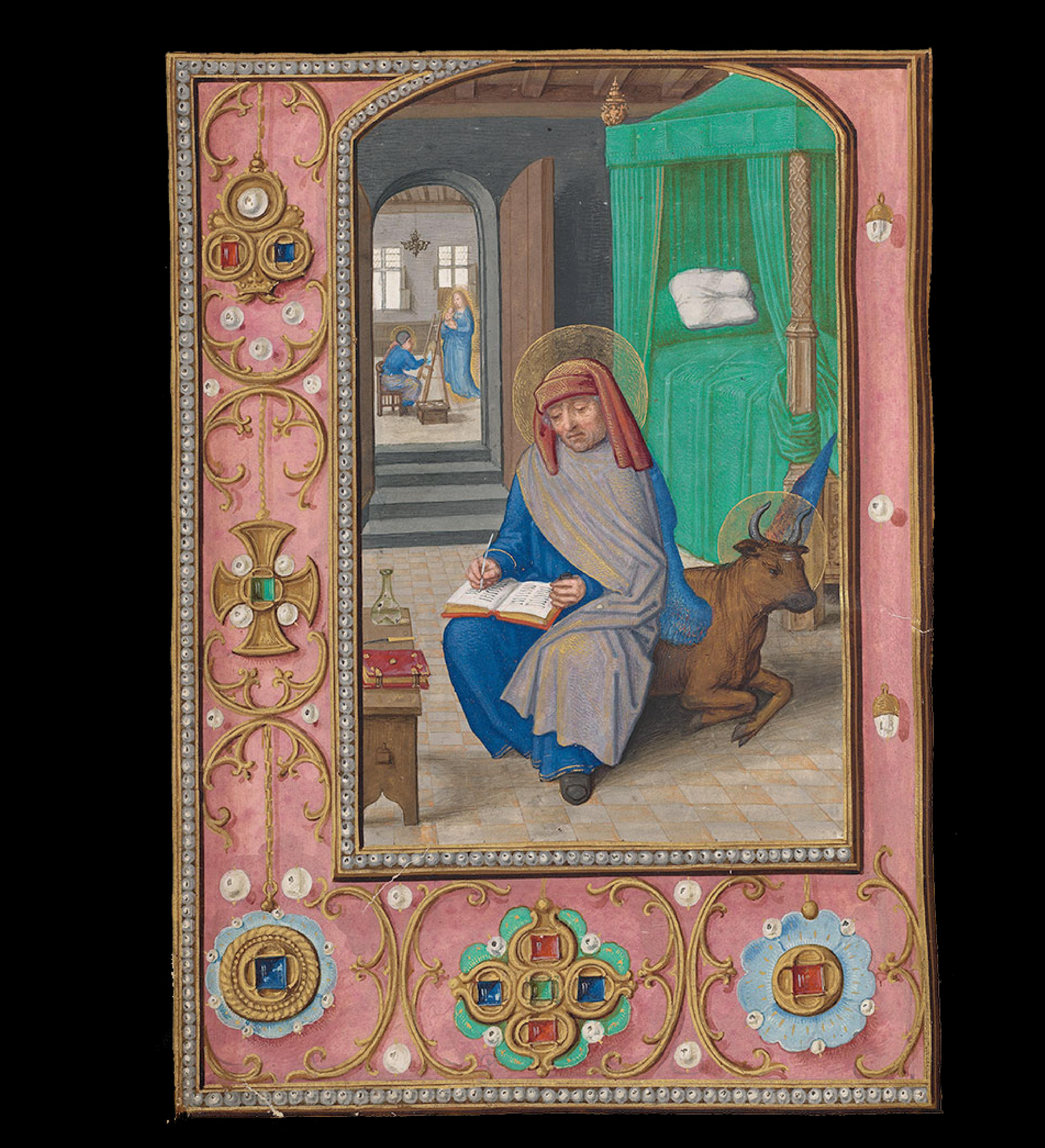 8-St.-Luke-Writing