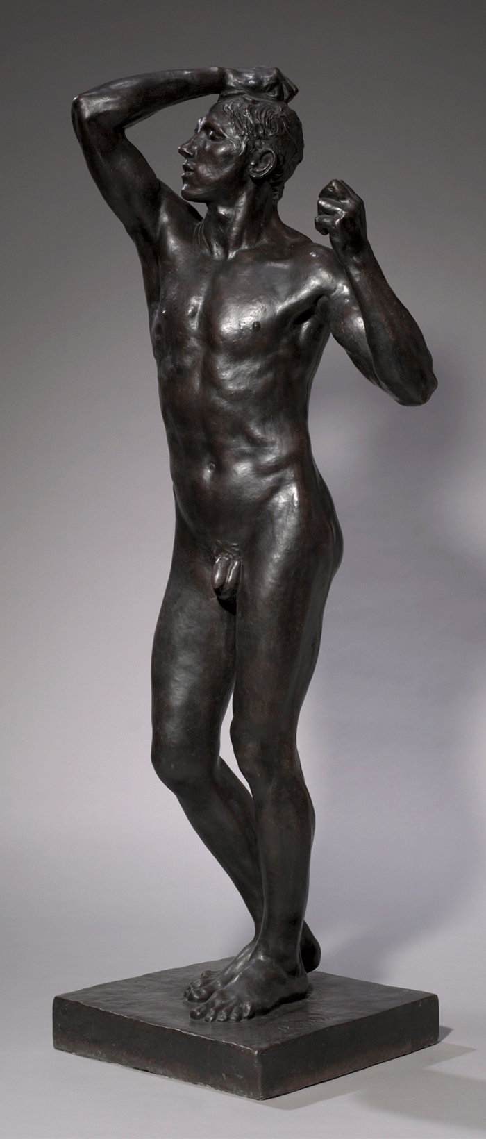 The Age of Bronze, 1875–76. Auguste Rodin