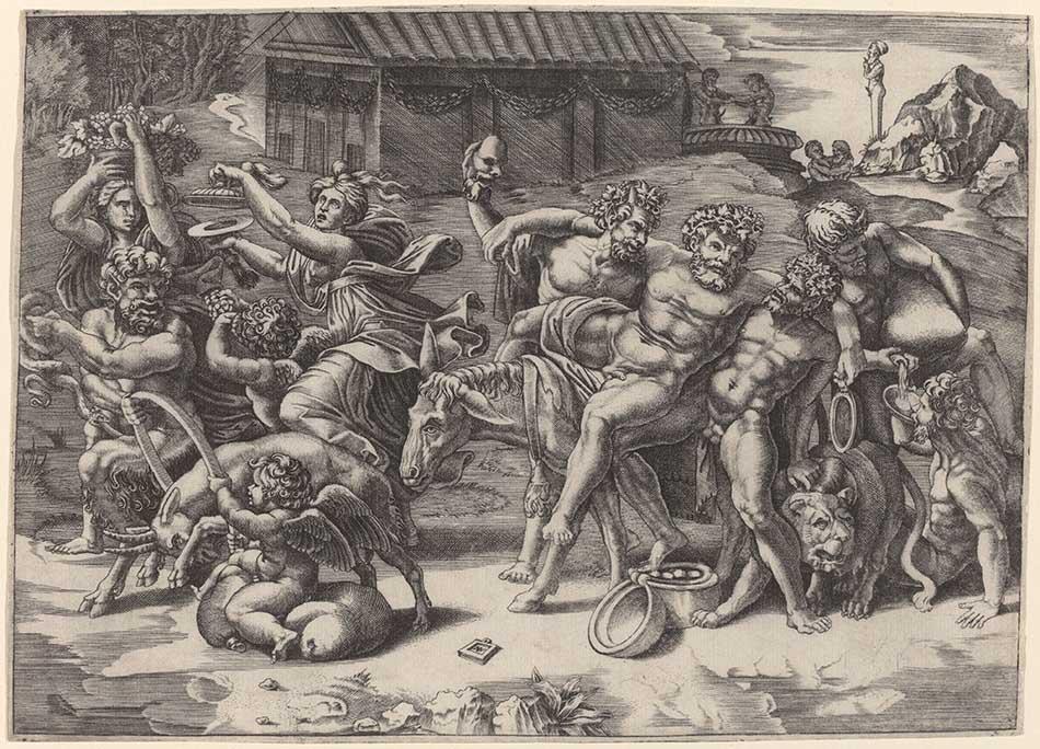 4969-018_agostino dei musi_called agostino venezino_the march of silenus