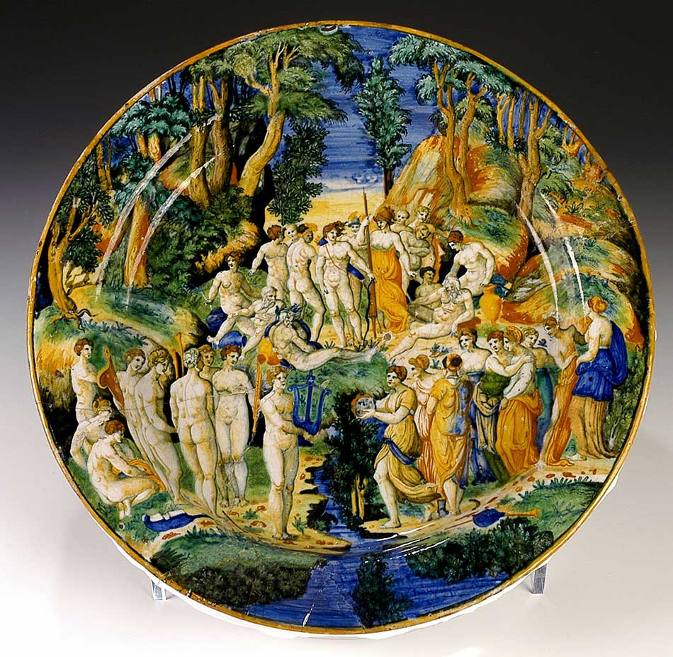 4969-083_plate with muses and pierides