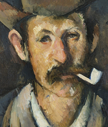 Man with a Pipe', circa 1892-1896, Paul Cézanne