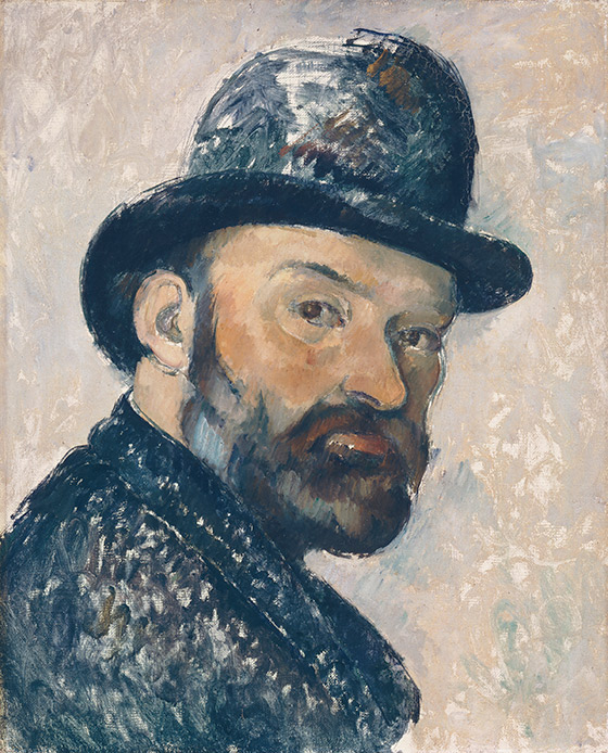 1885–1886_Paul-Cézanne_Self-Portrait-with-Bowler-Hat_560_w
