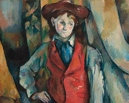 1888–1890_Paul-Cézanne_Boy-in-a-Red-Waistcoat_450_w
