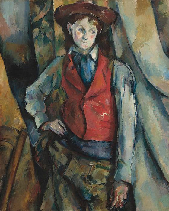 1888–1890_Paul-Cézanne_Boy-in-a-Red-Waistcoat_560_w