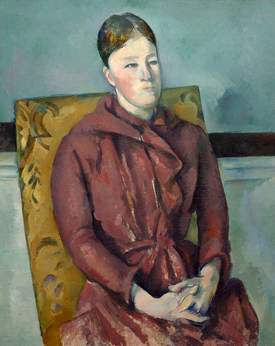 1888–1890_Paul-Cézanne_Madame-Cézanne-in-a-Red-Dress_560_w