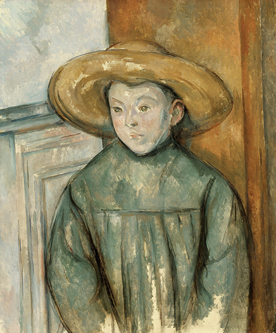 1896_Paul-Cézanne_Child-in-a-Straw-Hat_560_w