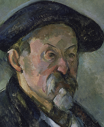 1898–1900_Paul Cézanne_Self-Portrait with Beret_350