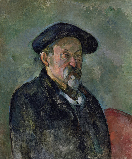 1898–1900_Paul-Cézanne_Self-Portrait-with-Beret_560_w