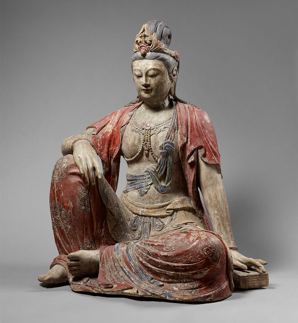 Bodhisattva_China_Song dynasty_c.1125_Kimbell Art Museum_Sam and Myrna Myers Collection