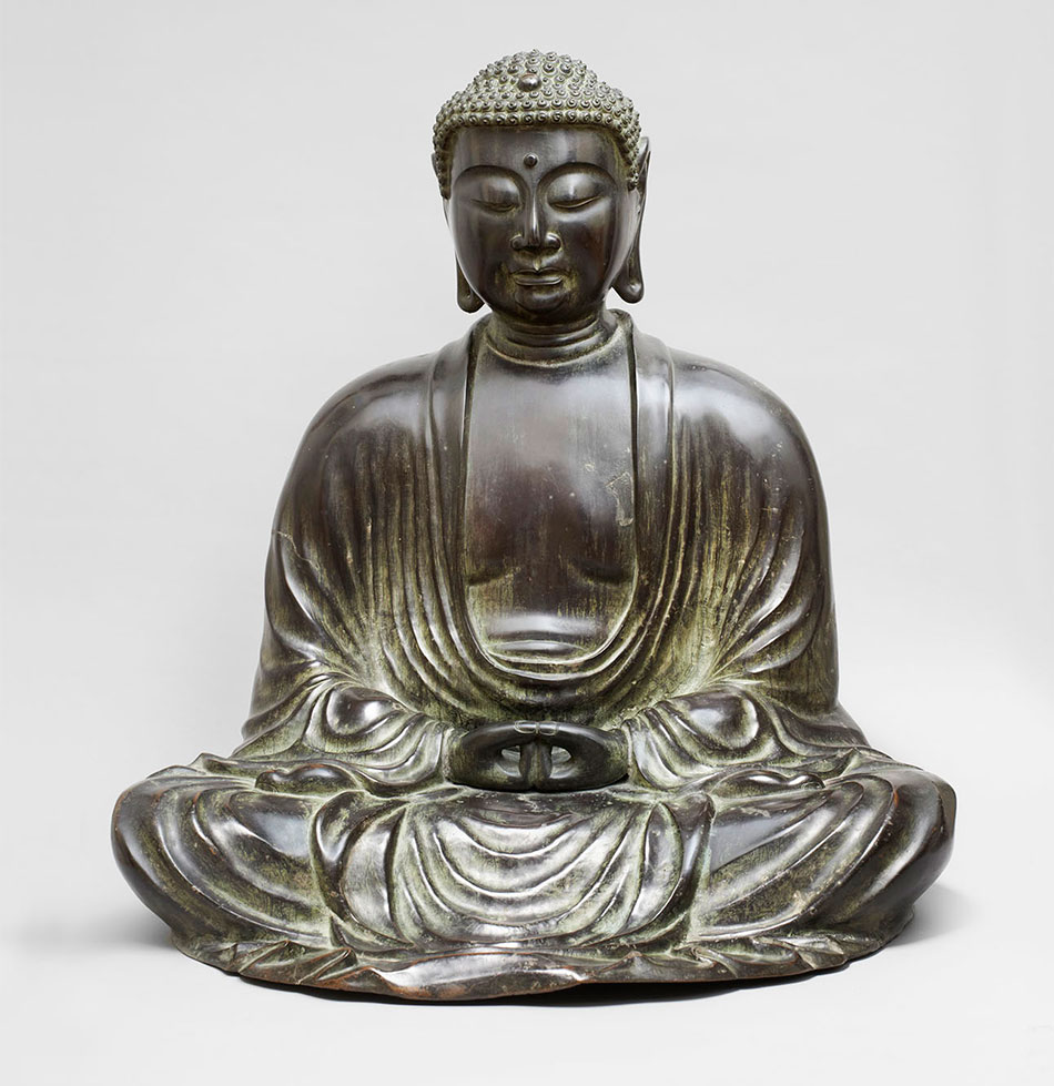 Bronze-_Amida_Buddha_Kimbell-Art-Museum_Sam-and-Myrna-Myers-Collection