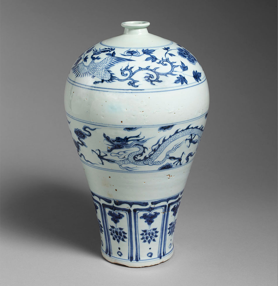 Meiping_vase_China_Porcelain_Yuan-dynasty_Kimbell-Art-Museum_The-Sam-and-Myrna-Myers-Collection