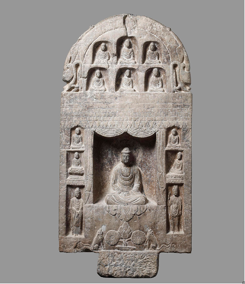 Stele with the Buddha Shakyamuni