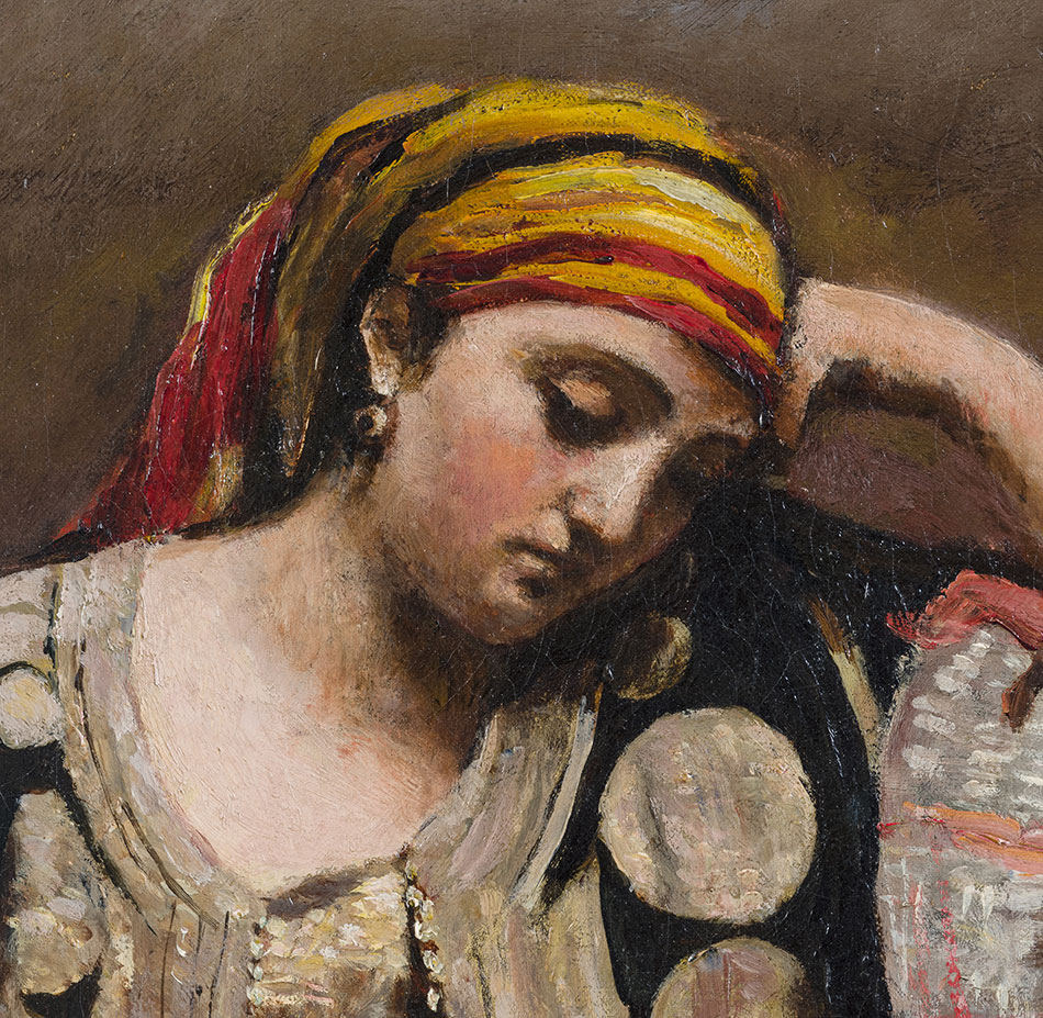 ean-Baptiste-Camille-Corot_Jewish-Woman-of-Algeria_c.-1870_D_950