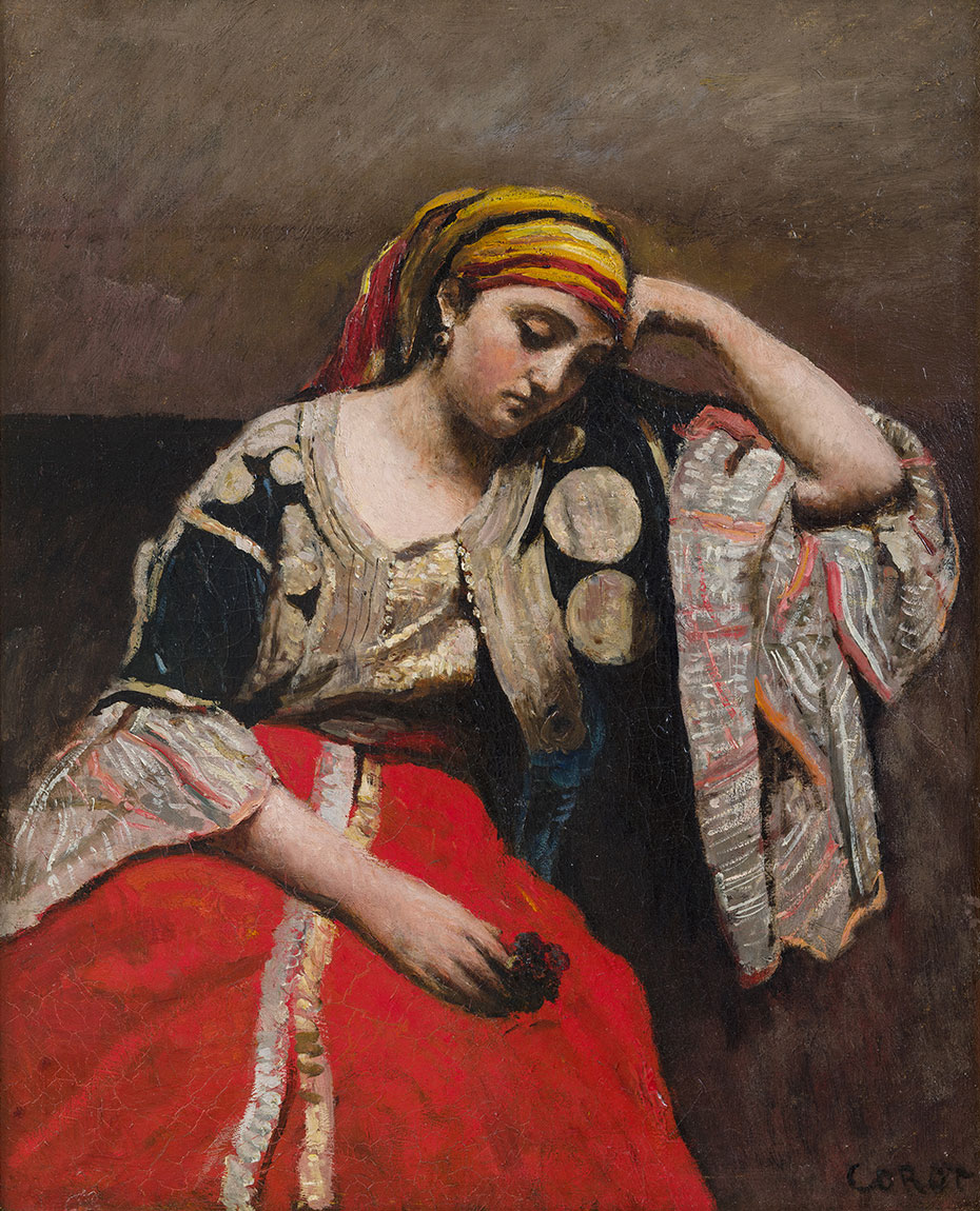 Jean-Baptiste-Camille-Corot_Jewish-Woman-of-Algeria_c.-1870_950