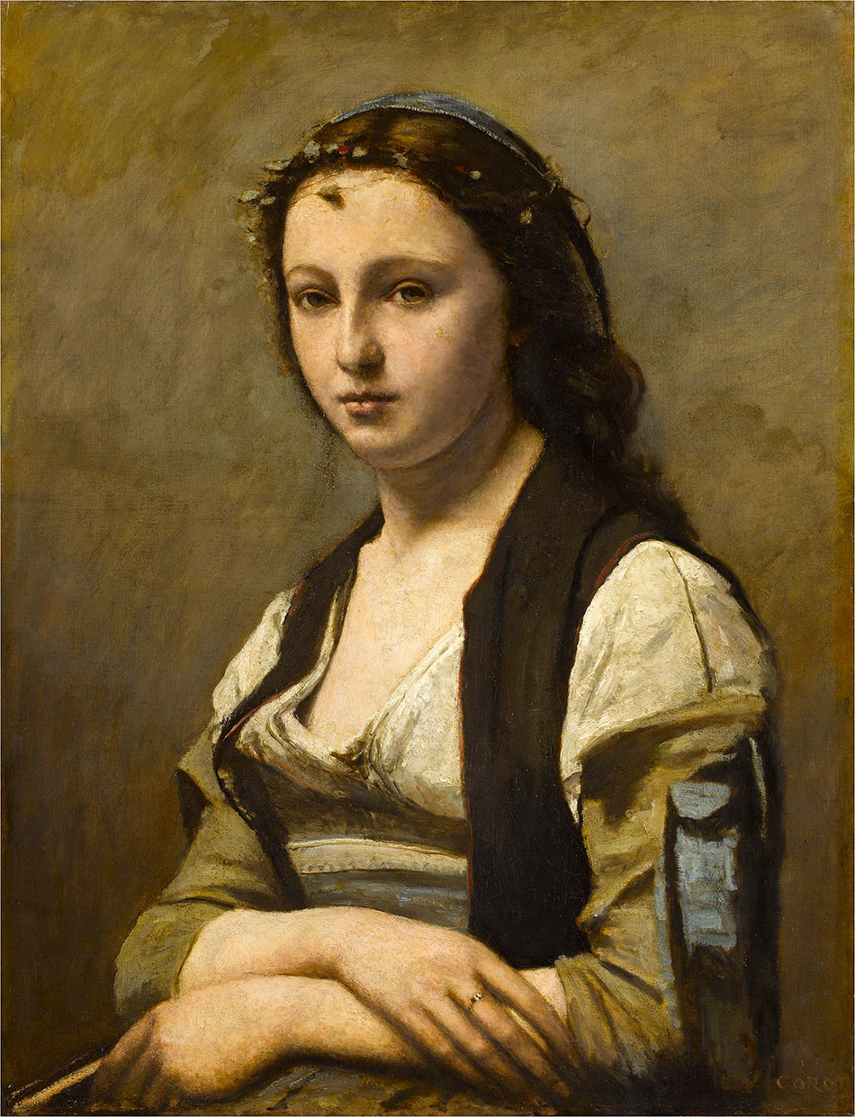Jean-Baptiste-Camille-Corot_Woman-with-a-Pearl-c.-1868–1870
