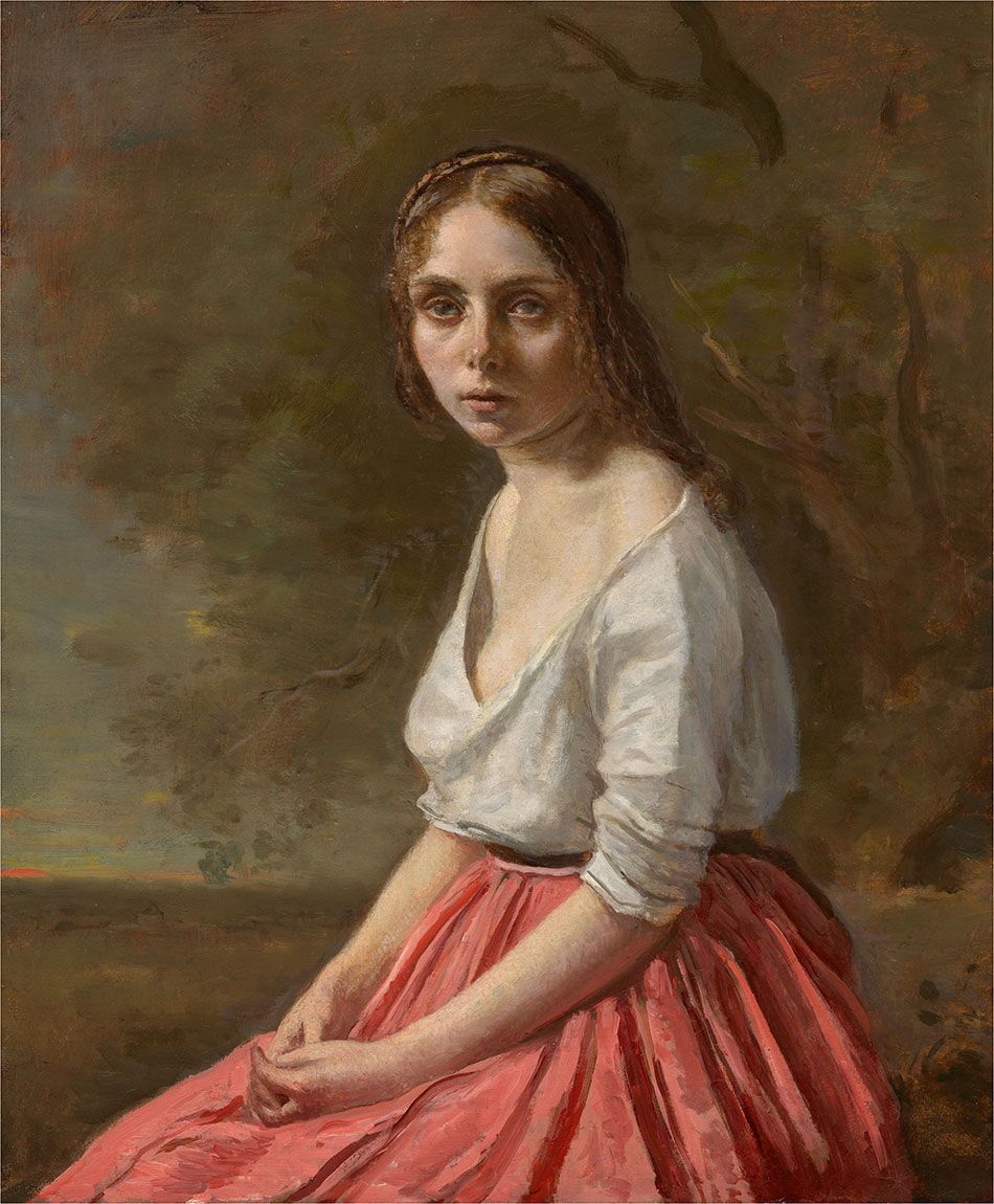 Jean-Baptiste-Camille-Corot_Young-Woman-in-a-Pink-Skirt-c.-1845–1850_950