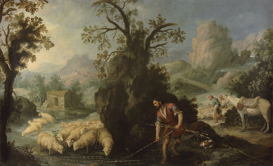 Bartolome_Esteban-Murillo_Jacob-Laying-the-Peeled-Rods-before-the-Flocks-of-Laban_950