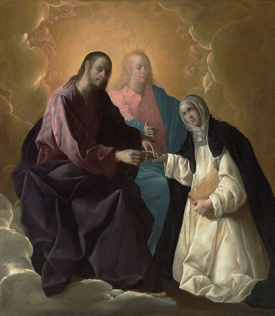 Francisco-de-Zurbaran_The-Mystic-Marriage-of-Saint-Catherine-of-Siena_950