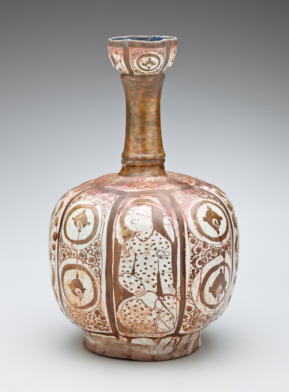 2008.1_Unknown,-Luster-Lobed,-Molded-Rim-Bottle-with-Figural,-Geometric,-Calligraphic-and-Floral-Motifs_950w