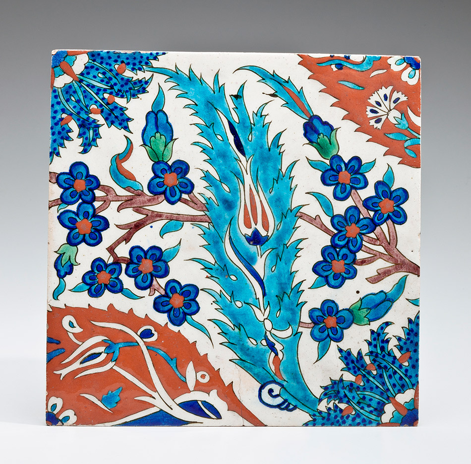 26.38_Unknown,-Wall-Tile-with-Turquoise-Saz-Leaf_950w