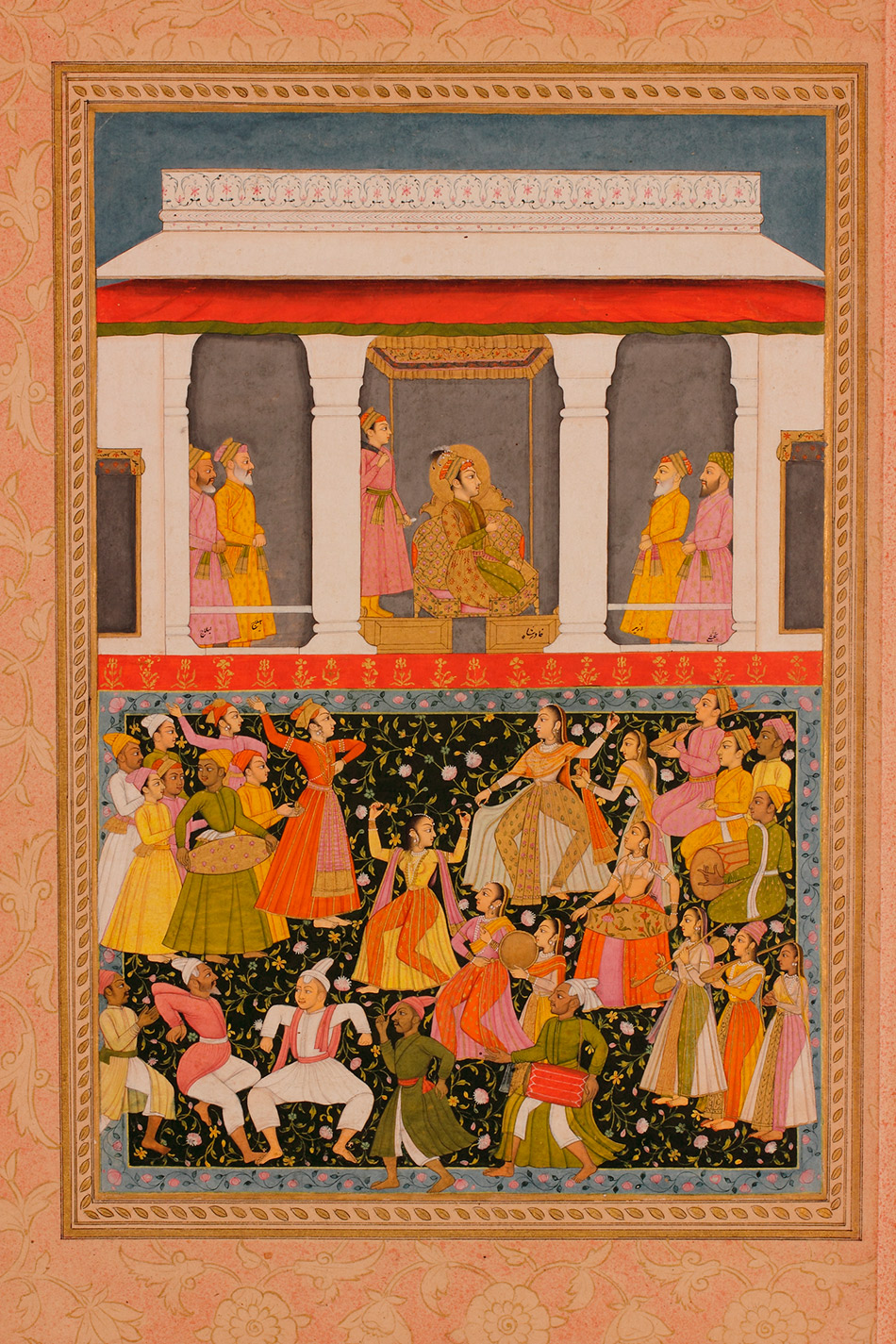 41.1122_Unknown,-Khavar-Shah-Celebrates-the-Reunion-of-Mihr-and-Mah-Folio-from-a-dispersed_950w