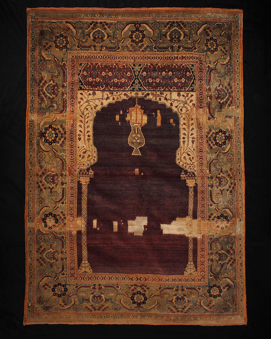 49.538_Unknown,-Knotted-Prayer-Rug-with-Mihrab_950w