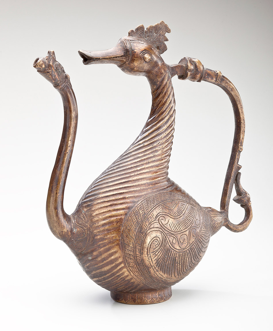 91.451_Unknown,-Ewer-in-the-Shape-of-a-Mythic-Goose-and-Makara-with-Floral-Motifs950w