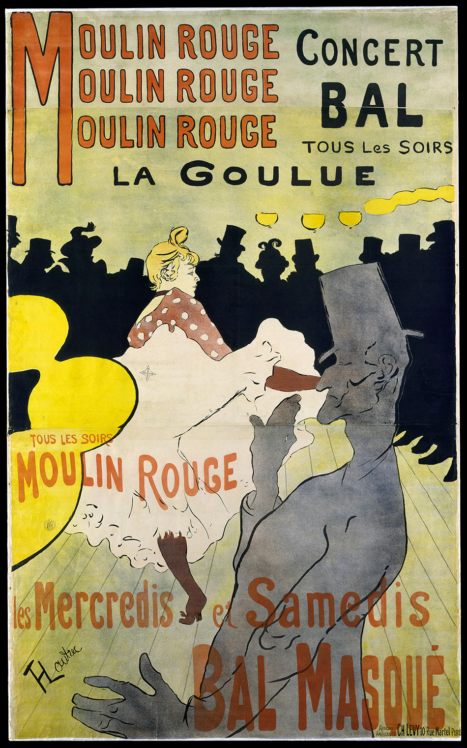 TOULOUSE-LAUTREC AND THE STARS OF PARIS – PATRONS