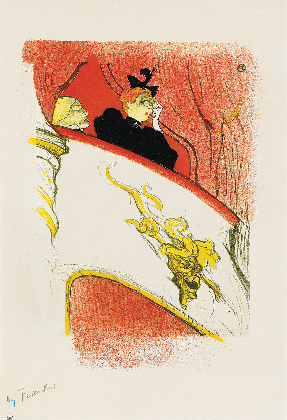 Henri de Toulouse-Lautrec_The Box-with-the-Gilded-Mask