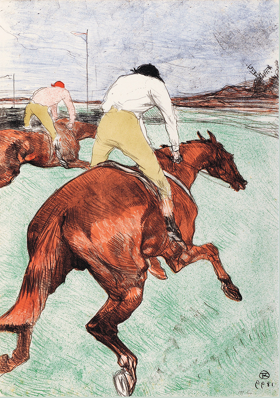 Henri de Toulouse-Lautrec_The Jockey