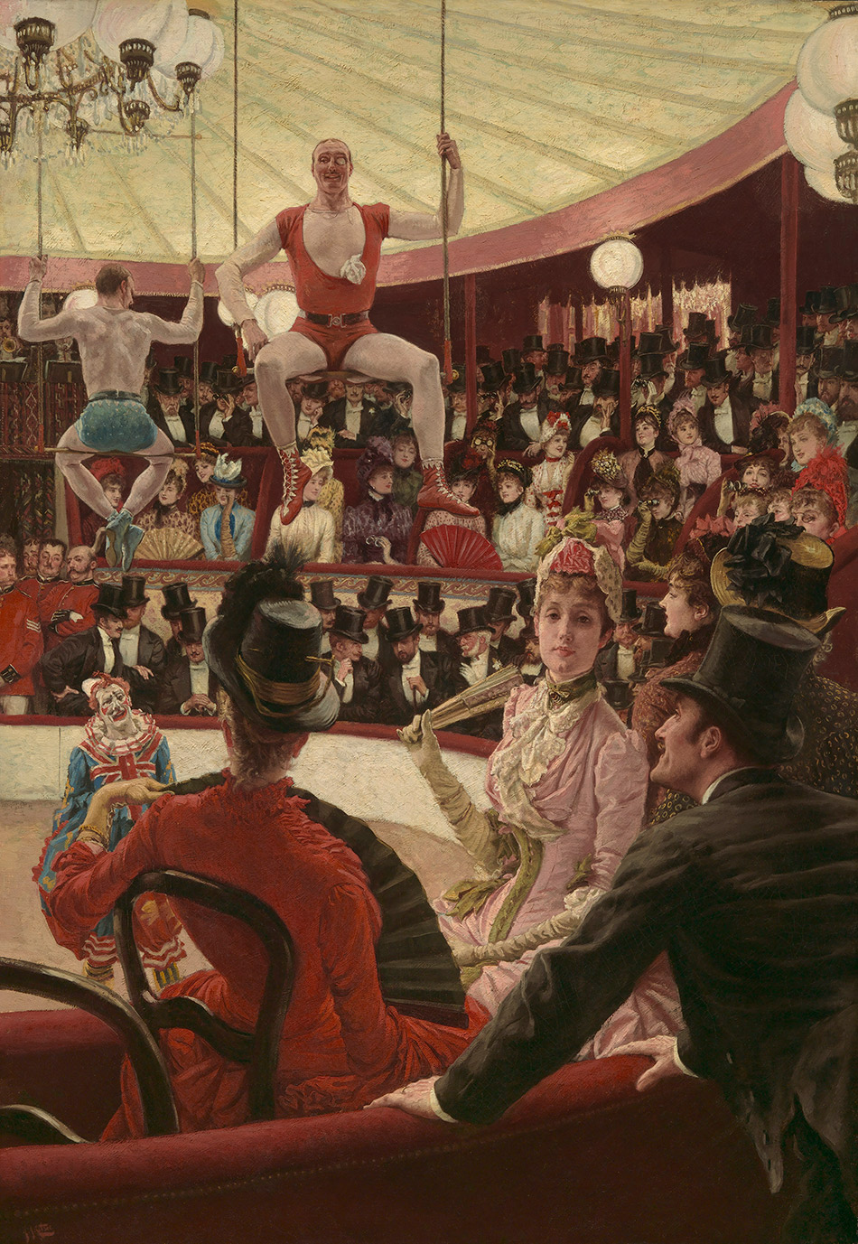 James Jacques Joseph Tissot_Women of Paris The Circus Lover