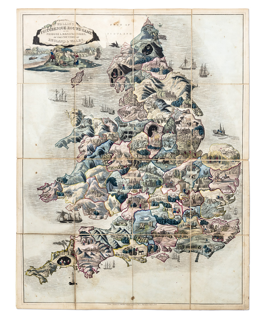 Spooner's-Pictorial-Map-of-England-&-Wales,-London_-William-Spooner,-1844,-Yale-Center-for-British-Art,-Gift-of-Ellen-and-Arthur-Liman,-Yale-JD-1957