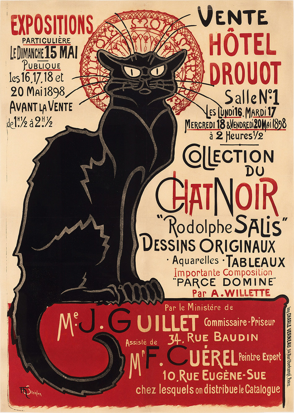 Theophile-Alexandre Steinlen_Collection of the Chat Noir