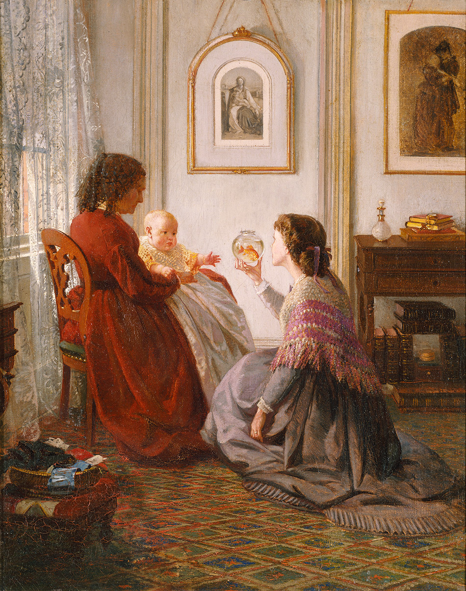 Aaron-Draper-Shattuck_The-Shattuck-Family-with-Grandmother--Mother-and-Baby-William-1865_4104-014_Brooklyn-Museum-New-York_950w