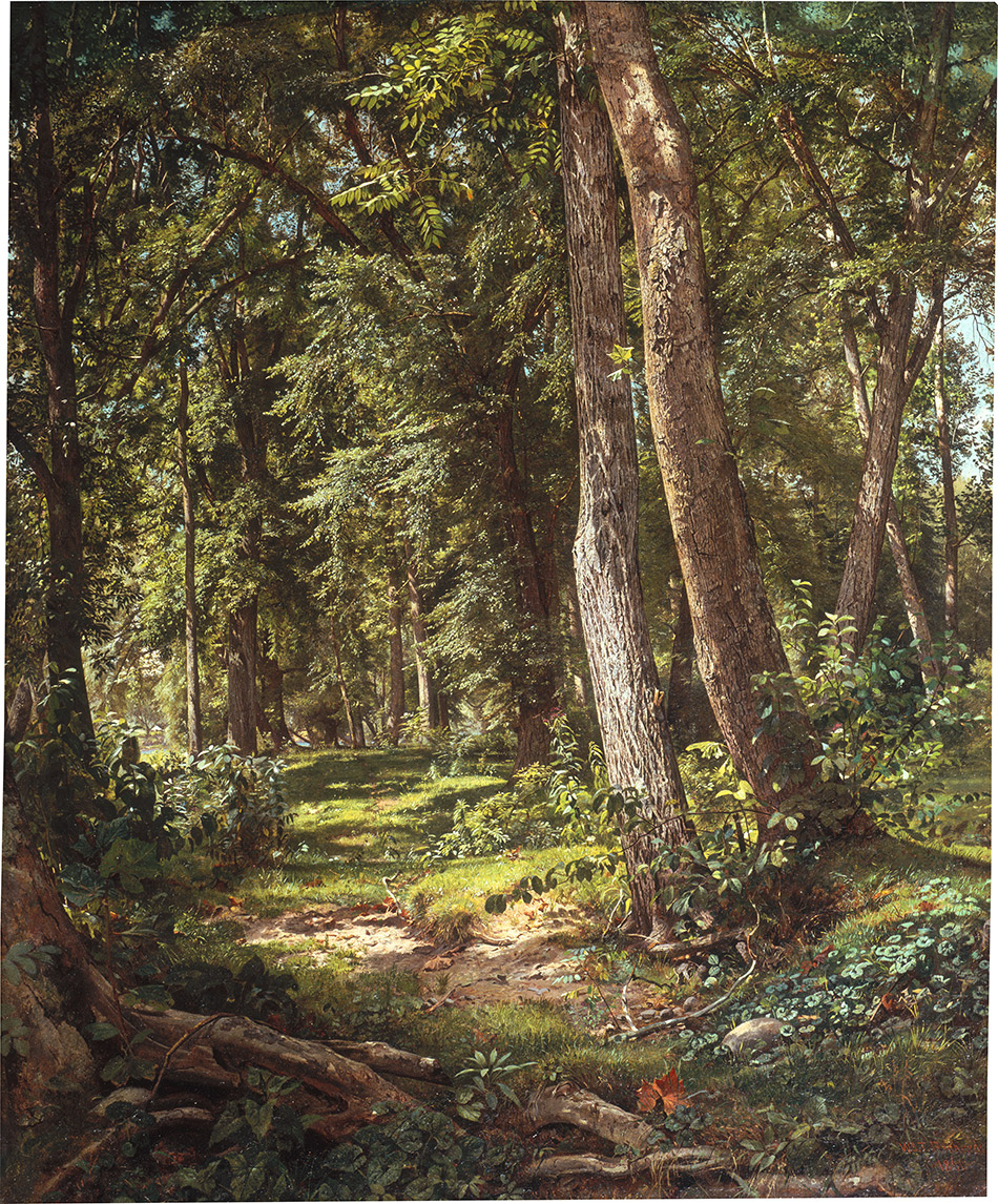 William-Trost-Richards_Path-in-the-Woods_1861_4104-057_Private-Collection_950w