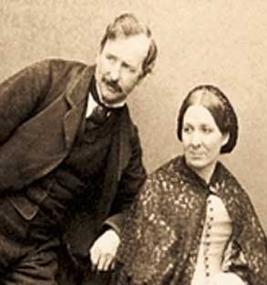 Charles Thurston Thompson and wife