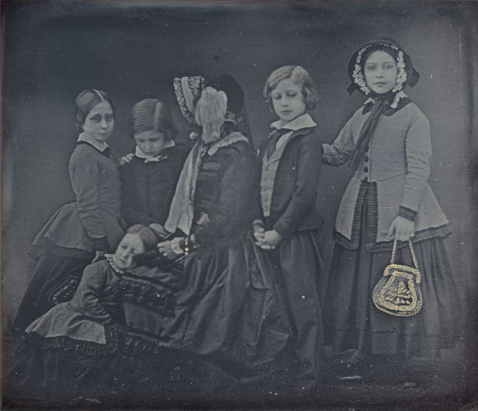 Queen Victoria and Children, January 19, 1852_William Edward Kilburn_950 W