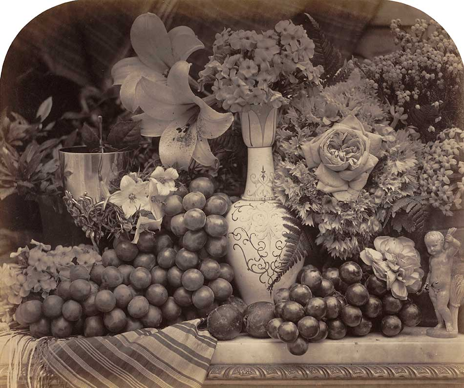 Roger-Fenton_Fruit-and-Flowers,-1860