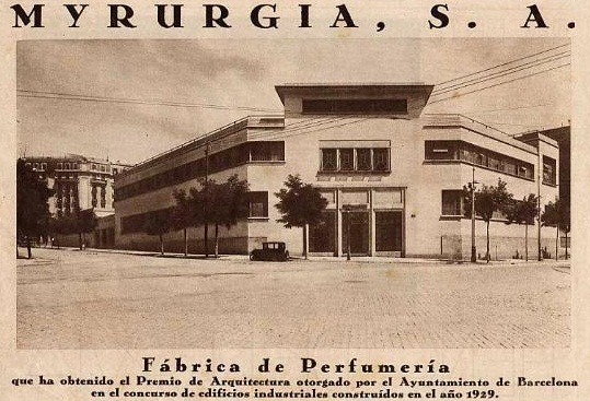 myrurgia new building