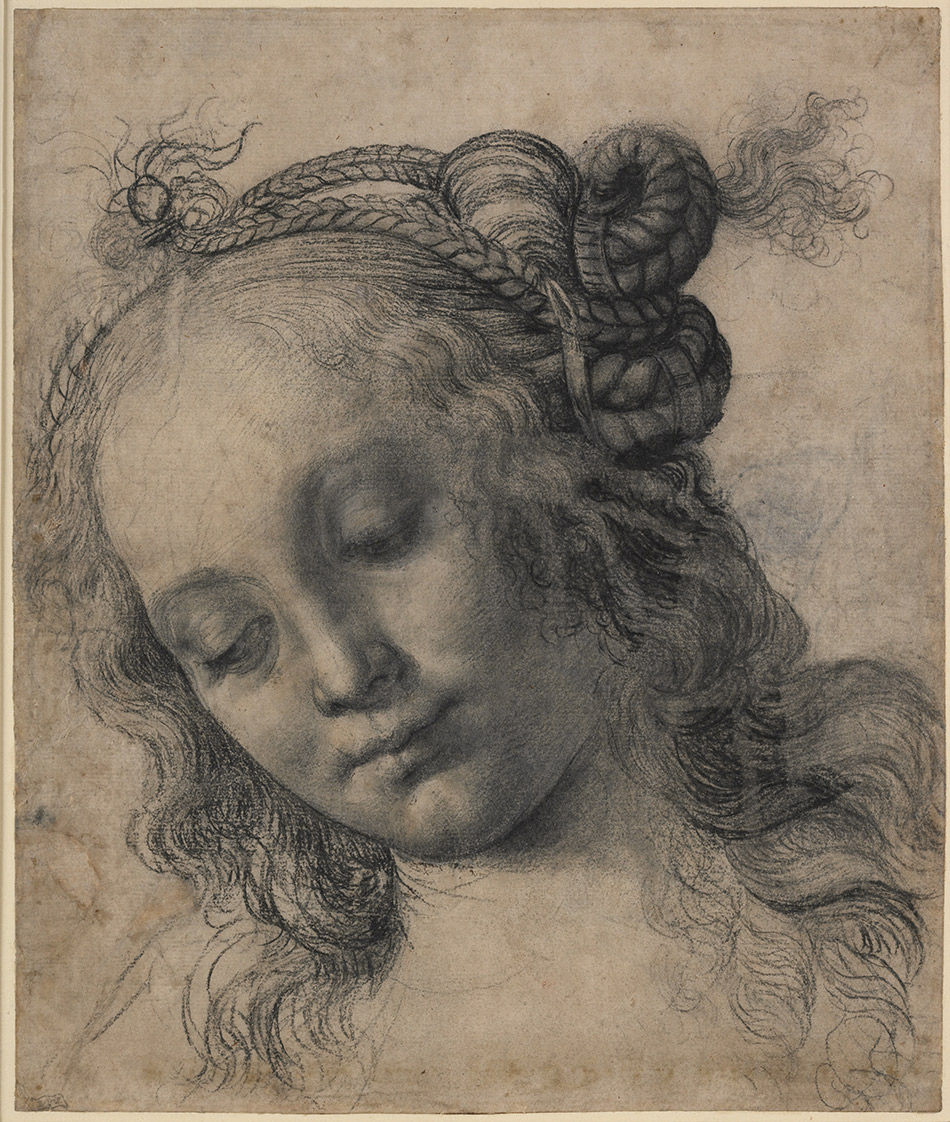 Andrea-del-Verrocchio_Head-of-a-Woman-with-Braided-Hair--recto_950-W