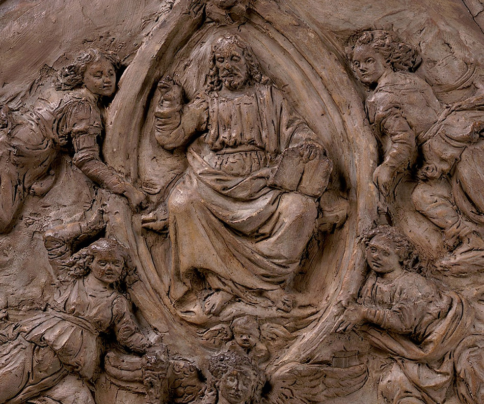 Andrea del Verrocchio_Sketch Model for the Monument of Cardinal Niccolò Forteguerri_detail-950 W