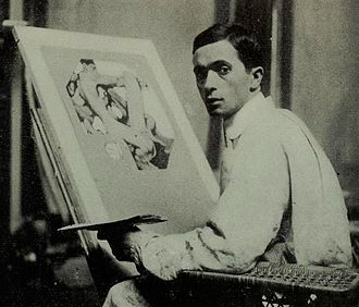 J._C._Leyendecker_in_his_Studio_REC